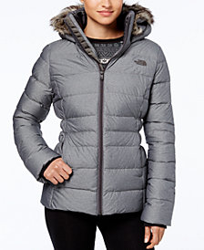 The North Face Gotham Faux-Fur-Trim Hooded Jacket