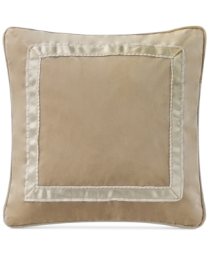 Waterford Ansonia Ivory 14 Square Decorative Pillow Bedding