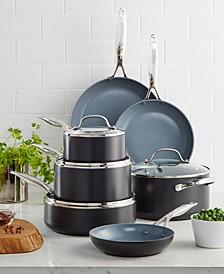 Valencia Pro Ceramic Non-Stick 11-Pc. Cookware Set