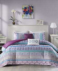 Intelligent Design Joni 4-Pc. Reversible Twin/Twin XL Comforter Set