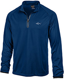 Attack Life by Greg Norman Men's Piqué Quarter-Zip Sweatshirt, Created for Macy's