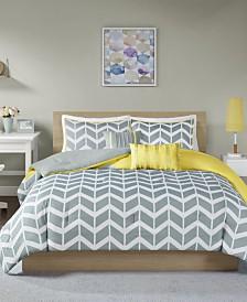 Intelligent Design Nadia 5-Pc. Reversible Full/Queen Comforter Set