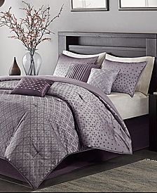 Madison Park Biloxi 7-Pc. Geometric Jacquard California King Comforter Set
