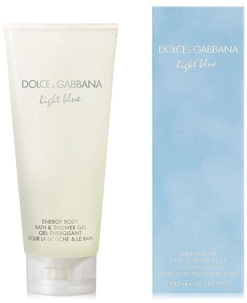 b4528709371c Dolce   Gabbana DOLCE GABBANA Light Blue Energy Body Bath   Shower Gel ...