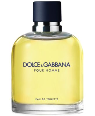 DOLCE&GABBANA Men's Pour Homme Eau de Toilette Spray, 2.5 oz.