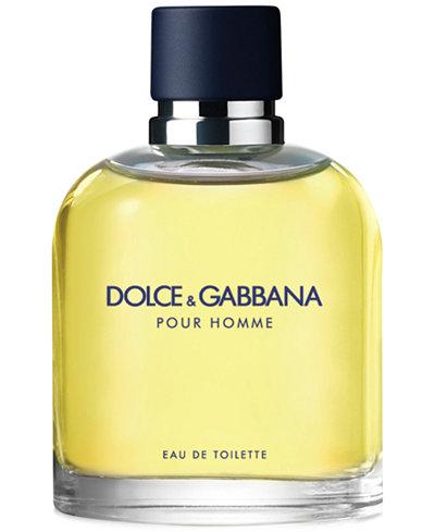 DOLCE&GABBANA Men's Pour Homme Eau de Toilette Spray, 2.5 oz.