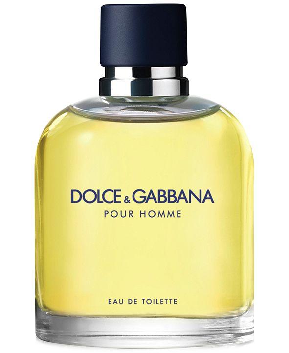 Dolce & Gabbana DOLCE&GABBANA Men's Pour Homme Eau de Toilette Spray, 2.5 oz.