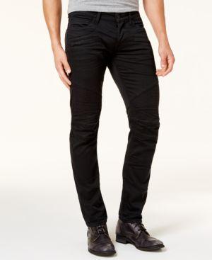 Blinder Biker Super Slim Fit Jeans In Blacklight in Abyss
