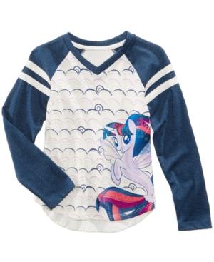 My Little Pony VNeck Raglan TShirt Little Girls (46X)