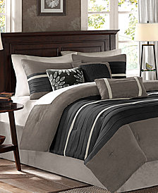 Madison Park Palmer Microsuede 7-Pc. King Comforter Set