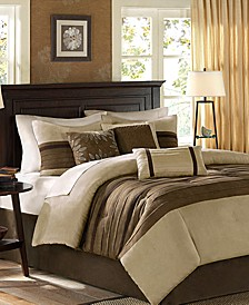 Palmer Microsuede 7-Pc. King Comforter Set