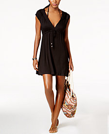 Dotti Sunset Brights Hooded Cover-Up Dress