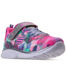 Skechers Little Girls' Spirit Sprintz - Rainbow Raz Athletic Sneakers from Finish Line