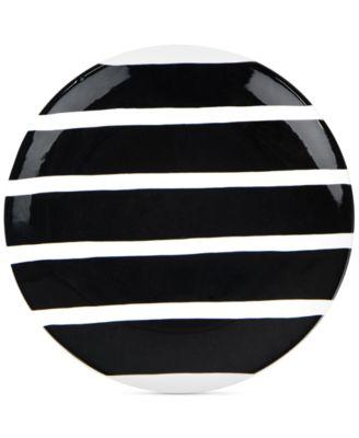 Black Plank Salad Plate