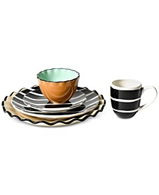 Black Plank Dinnerware Collection