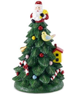 Spode Christmas Tree Toothbrush Holder