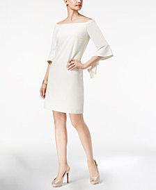 Thalia Sodi Off-The-Shoulder Shift Dress, Created for Macy's