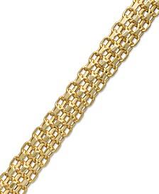 Bombay Bismark Chain Bracelet in 14k Gold