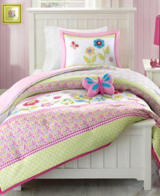 Spring Bloom 3-Pc. Reversible Twin Comforter Set