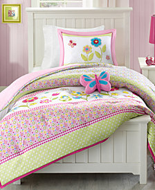 Mi Zone Kids Spring Bloom 4-Pc. Reversible Full/Queen Comforter Set