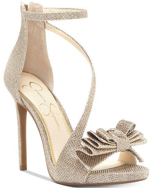 8ed4231686f1 Jessica Simpson Remyia Bow Dress Sandals   Reviews - Sandals   Flip ...