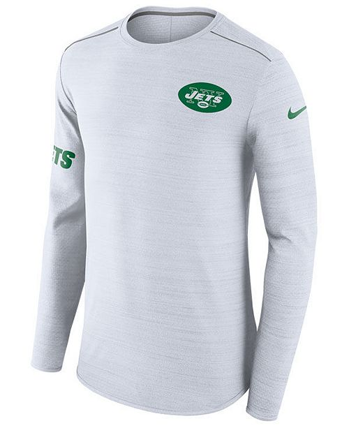 purchase cheap c4ed0 ba760 Nike Men's New York Jets Color Rush Player Top Long Sleeve T ...