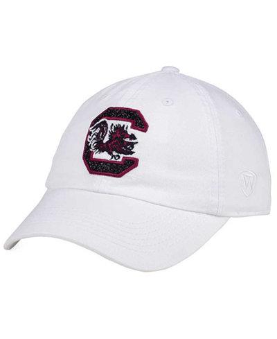 Top of the World Women's South Carolina Gamecocks White Glimmer Cap