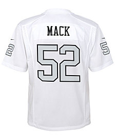 Nike Khalil Mack Oakland Raiders Color Rush Jersey, Big Boys (8-20)