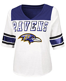Touch By Alyssa Milano Women's Baltimore Ravens Touchdown T-Shirt