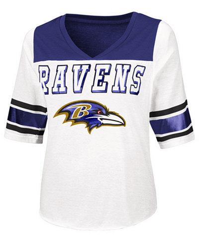 Touch By Alyssa Milano Women's Baltimore Ravens Touchdown T-Shirt