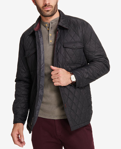 Weatherproof Vintage Men's Quilted Jacket, Created for Macy's ... : quilted jackets mens - Adamdwight.com