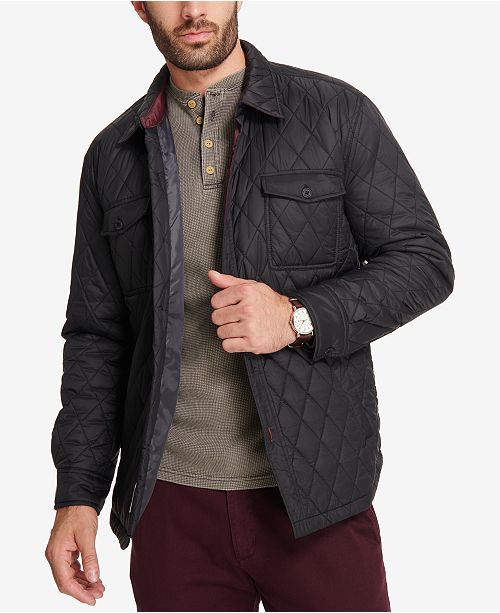 a7f1470c Weatherproof Vintage Men's Quilted Jacket, Created for Macy's ...