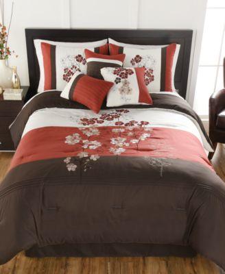 CLOSEOUT! Finnette 7-Pc. Full Comforter Set
