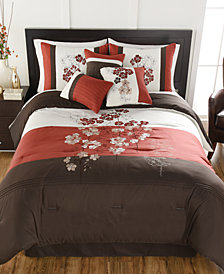 CLOSEOUT! Finnette 7-Pc. Full Comforter Set