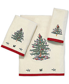 Avanti Spode Christmas Tree Hand Towel