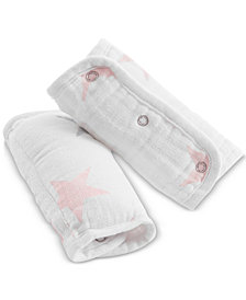 aden by aden + anais Baby Girls 2-Pk. Printed Strap Covers