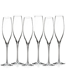 Waterford Elegance Classic 6-Pc. Toasting Flute Set
