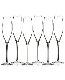 Waterford Elegance Classic Toasting Flute Set of 6