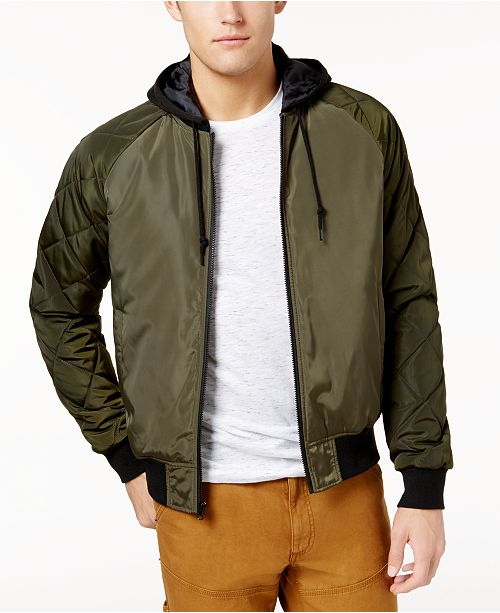 4dcaa9387 American Rag Men's Quilted Bomber Jacket, Created for Macy's ...