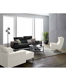 Trivoly Leather Sofa Collection, Created for Macy's