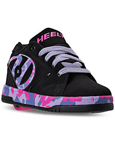 Heels Big Girls' Propel 2.0 Casual Skate Sneakers from Finish Line