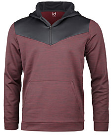 ID Ideology Men's Performance Colorblocked Half-Zip Hoodie, Created for Macy's