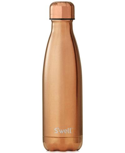 S'Well® 17-oz. Metallic Rose Gold Water Bottle