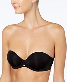 Naked Glamour Strapless Push Up Bra F3493