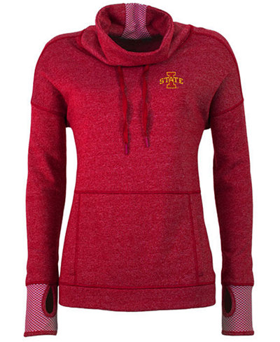 Antigua Women's Iowa State Cyclones Snap Pullover