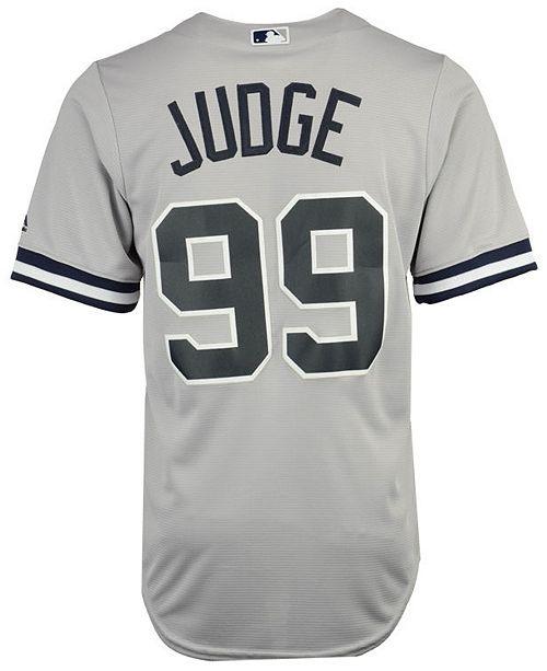 6462cf8959e ... Majestic Men s Aaron Judge New York Yankees Player Replica Cool Base  Jersey ...