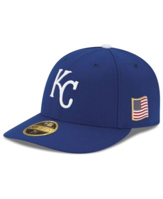 sports shoes 7e652 d3599 New Era Kansas City Royals Authentic Collection Low Profile 9-11 Patch  59FIFTY Fitted Cap