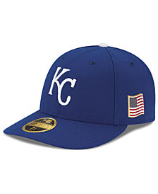 New Era Kansas City Royals Authentic Collection Low Profile 9-11 Patch 59FIFTY Fitted Cap