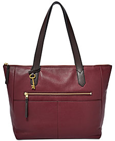 Fossil Fiona Leather Tote