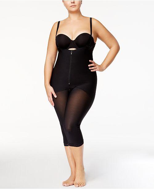 686d5b59f8eac Leonisa. Women s Firm Tummy-Control Sheer-Leg Lace-Trim Bodyshaper 018471.  7 reviews. main image  main image ...